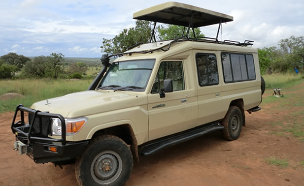 safari land cruiser hardtop